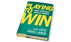 Playing-to-win book cover