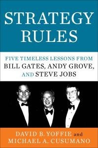 Strategy Rules Book Cover