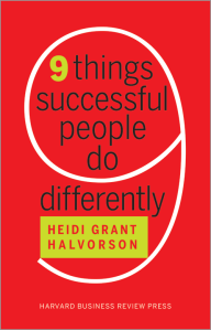 Nine Things Successful People Do_Book Cover