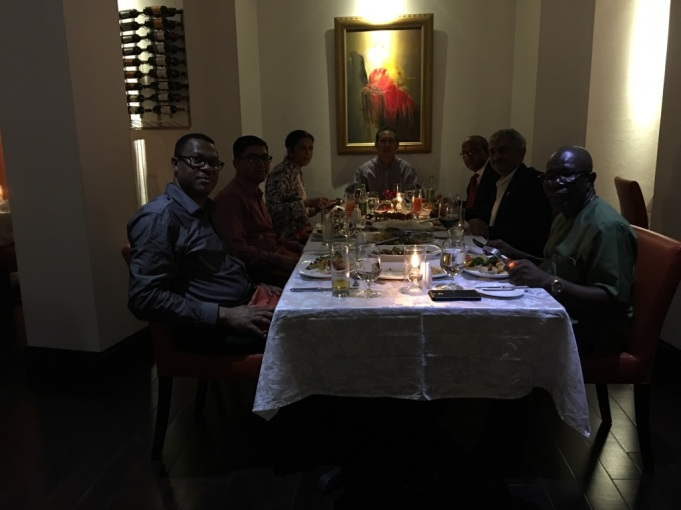 Dinner with CARICOM Officials